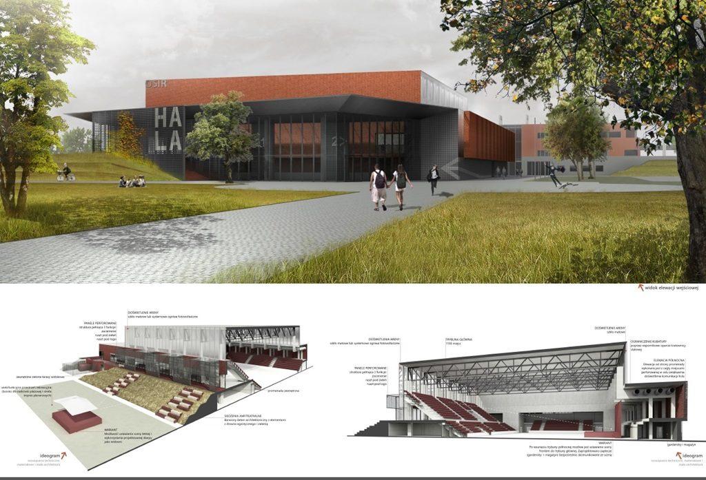 Suwałki Arena - projekt