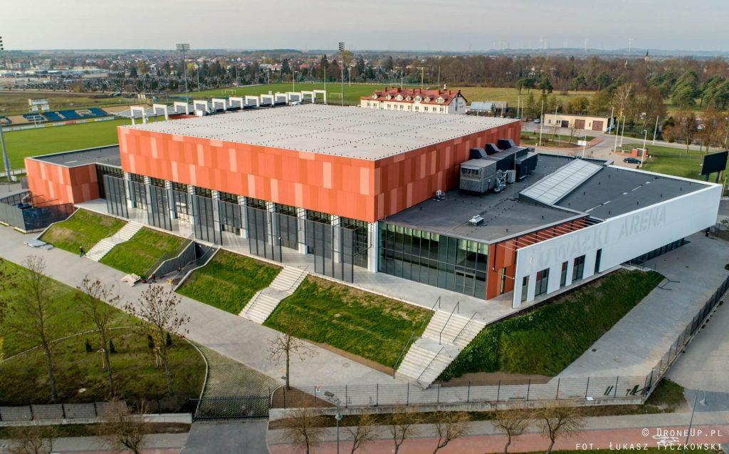 Suwałki Arena z lotu ptaka - październik 2019