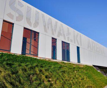 LED-owy napis Suwałki Arena za 130 tysięcy złotych