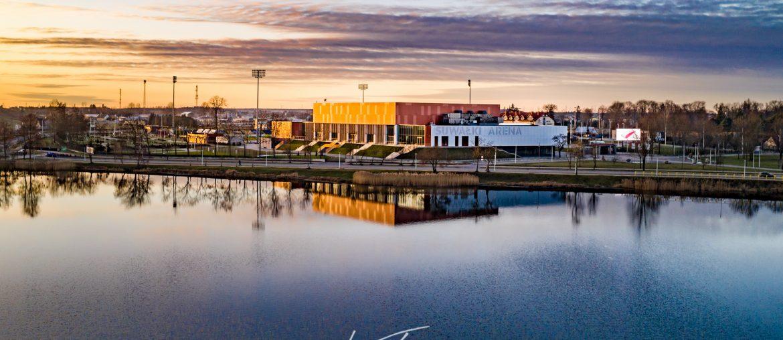 Suwałki Arena - zdjęcie z lotu ptaka