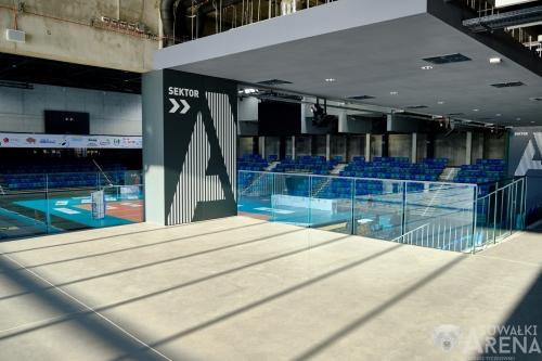 Suwałki Arena wewnątrz