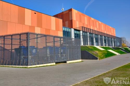 Suwałki Arena z zewnątrz